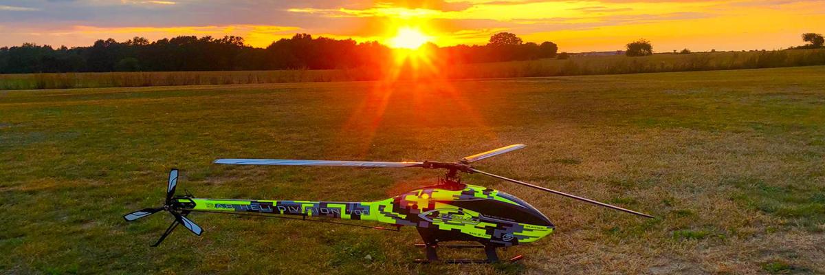 Auch Helikopter oder Hubschrauber gibt es bei uns zu sehen